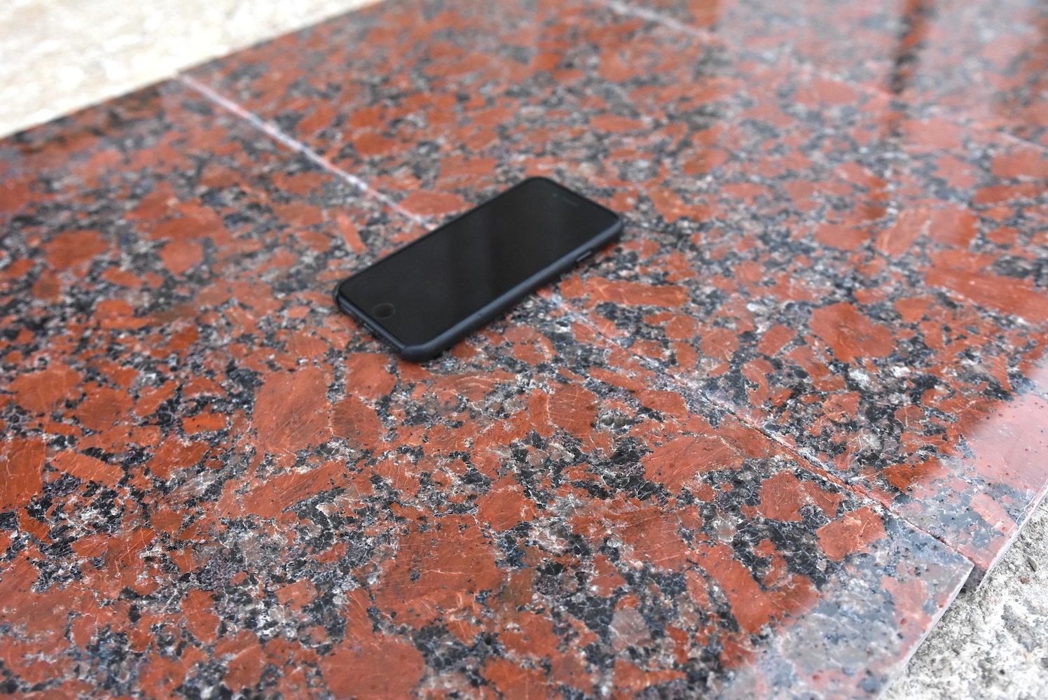 Rosso Santiago Granite Tiles