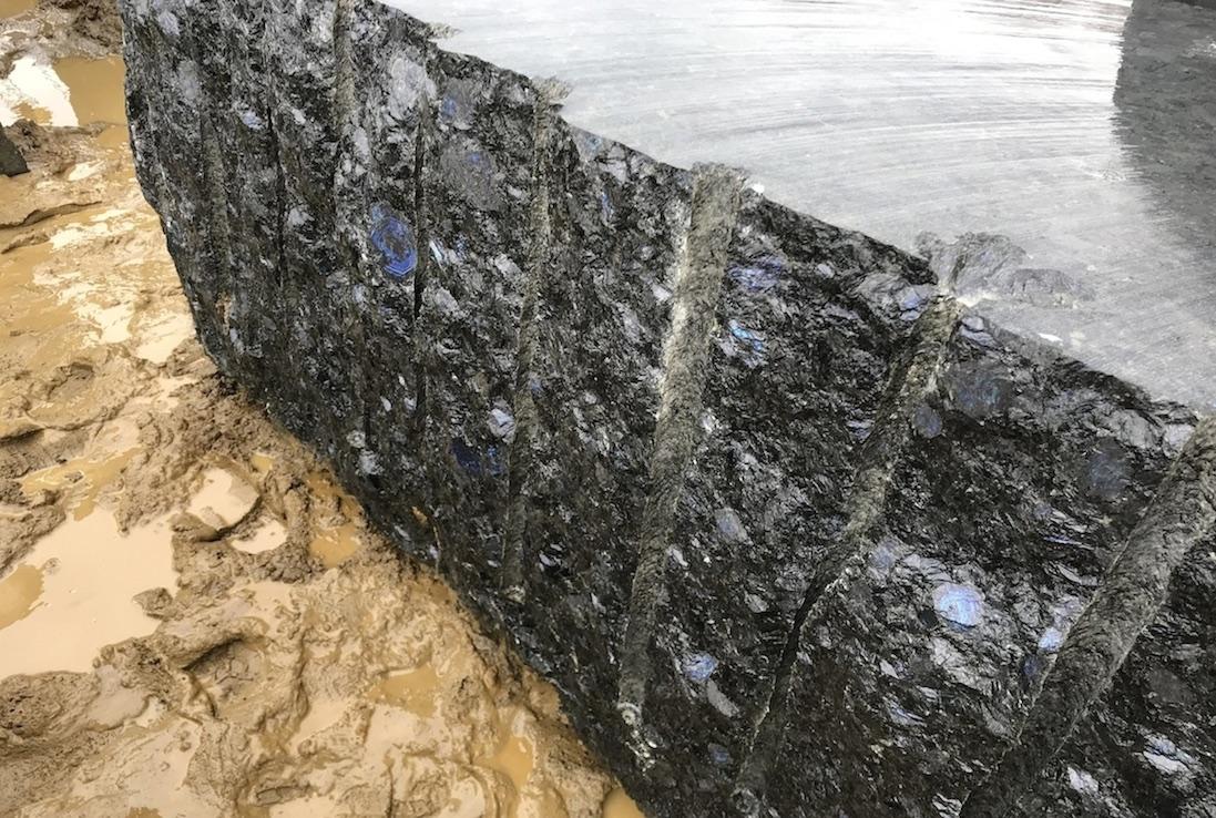 Volga Blue Block