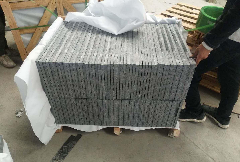 Polished Volga Blue granite tile. Order for Russia. фото 5eda1d8fb5cea