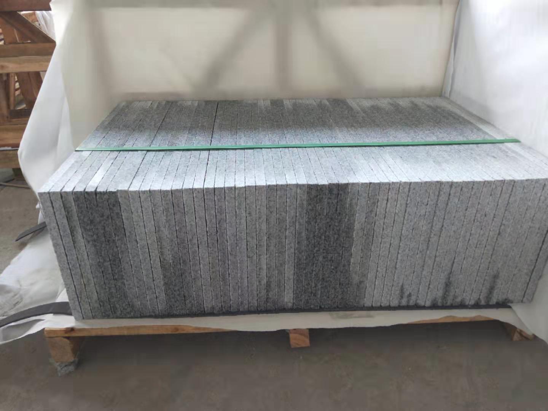 полированная плита из китайского серого гранита G603 Белла Вайт/Bella White