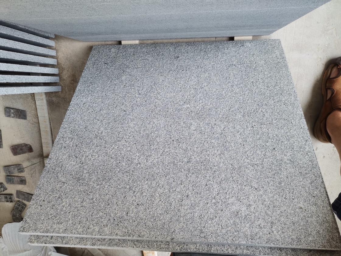 китайские серый гранит G654 Паданг Дарк Сезам Блэк