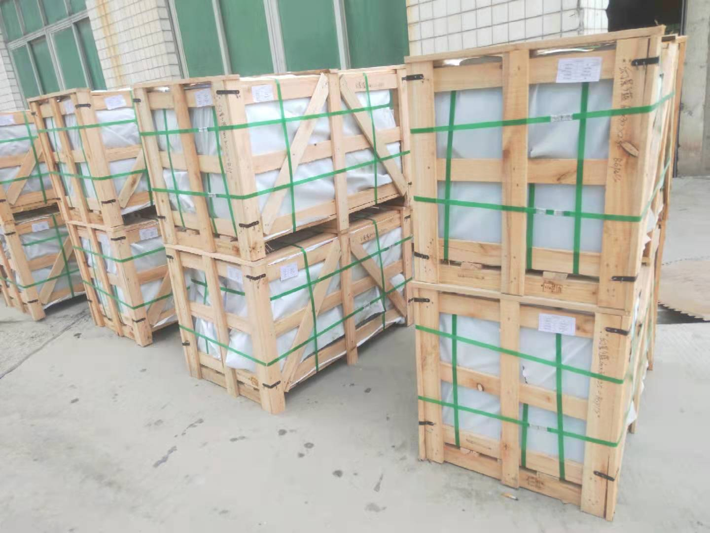 Polished Volga Blue tiles. 9 containers. Shipped. фото 61764c1471451