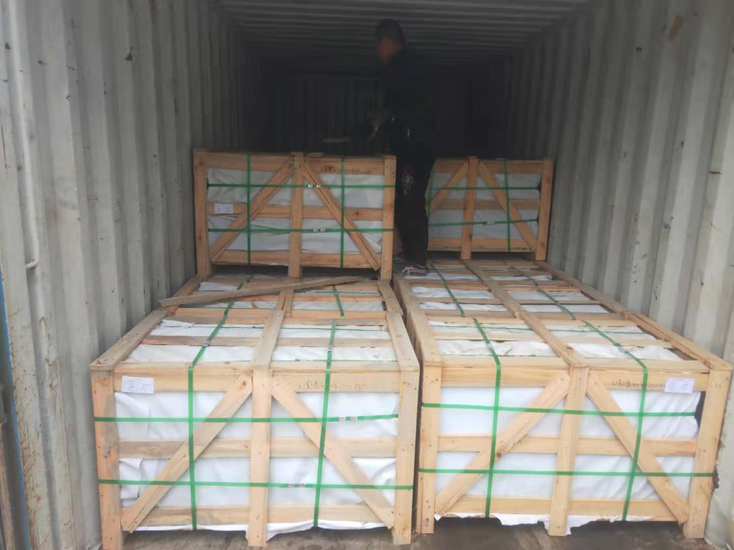 Polished Volga Blue tiles. 9 containers. Shipped. фото 61764c1470c0e