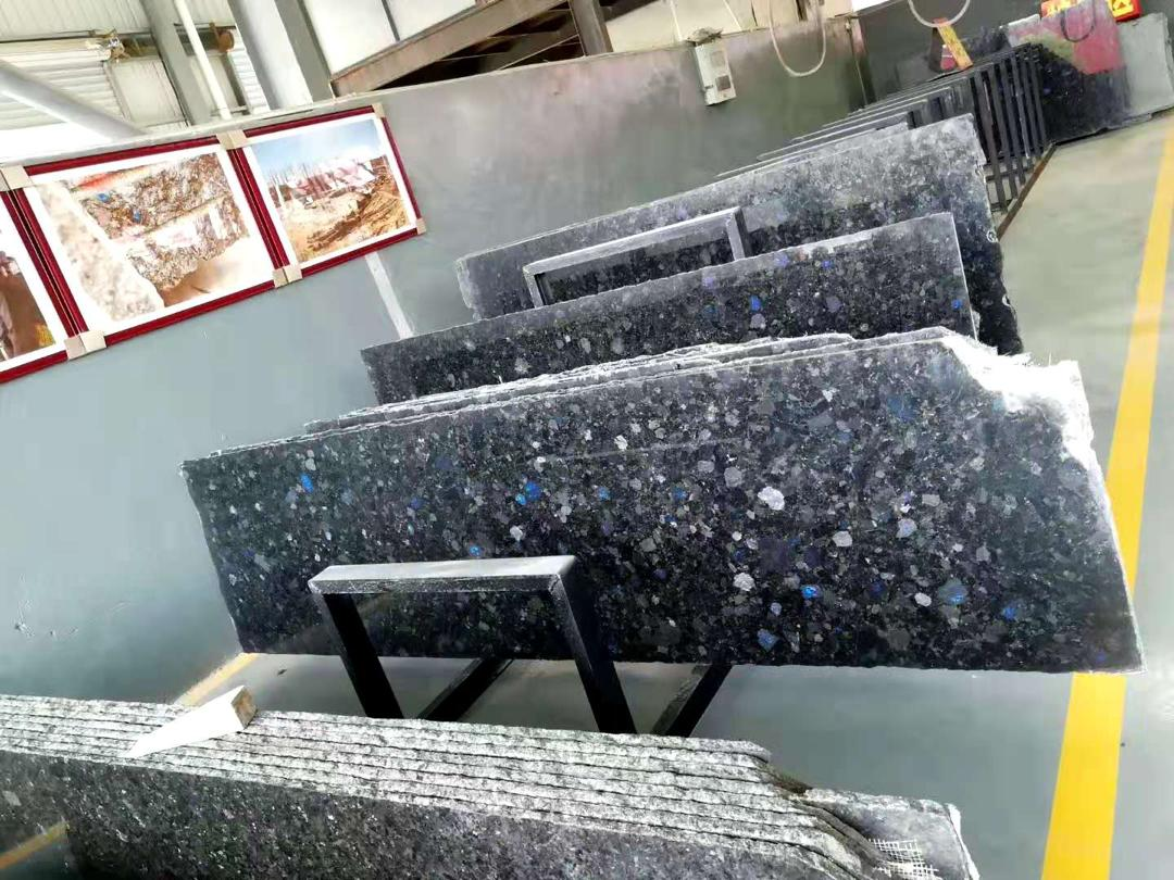 Polished Volga Blue tiles. 9 containers. Shipped. фото 61764c14661d6