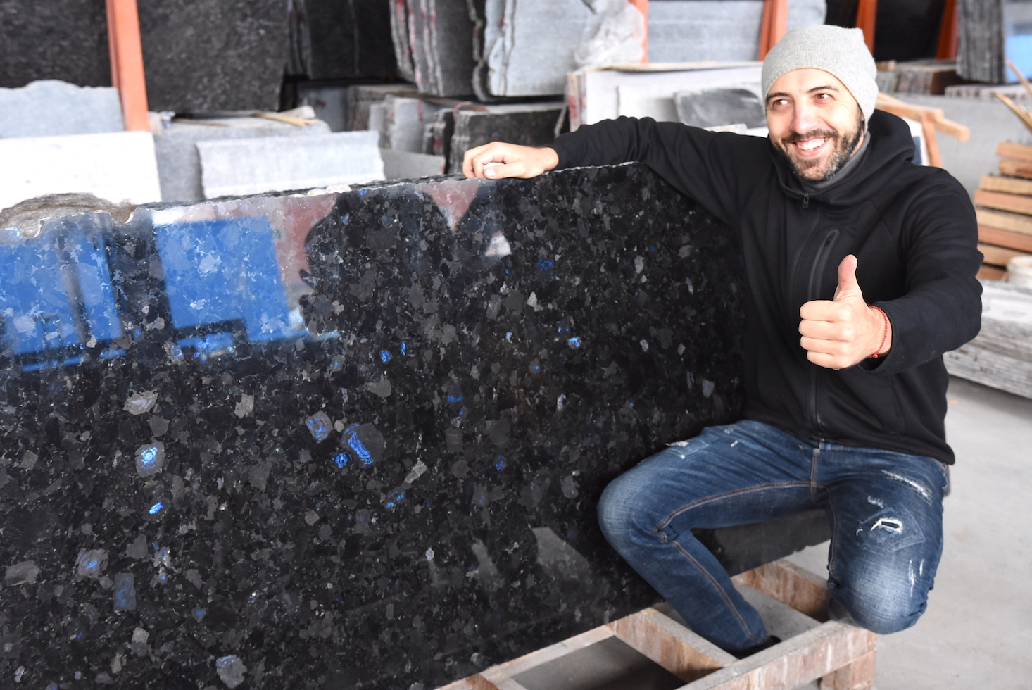Volga Blue: one of the most beautiful granite in the world фото 61766046ae122